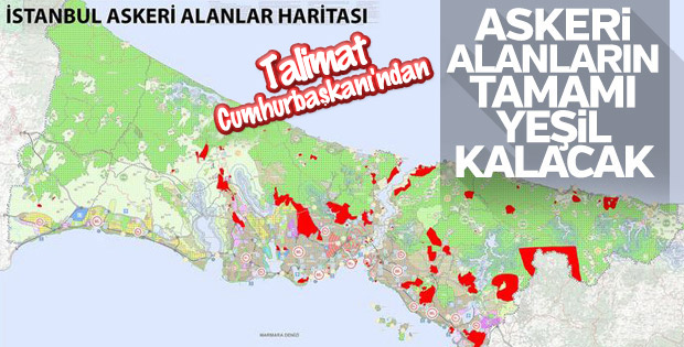 Recep Tayyip Erdoğan 'askeri alanlar yeşil kalacak' diye talimat vermişti: TOKİ, Florya'daki 34 dönümlük askeri alanı imara açıyor