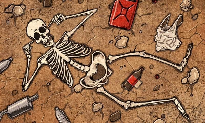 Yeryüzü bir ölüm sarmalına girmiş durumda, bizi kurtarmak için radikal eylem gerekecek