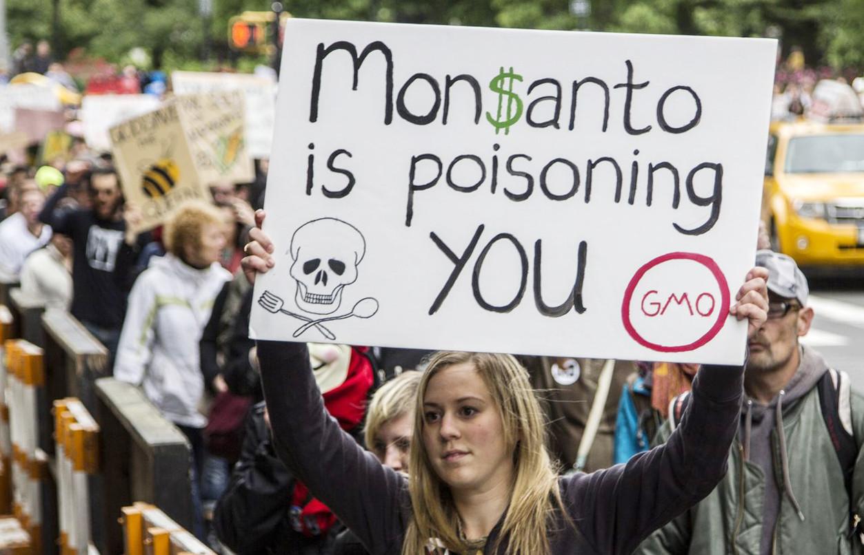 Monsanto'yla mücadeleye Bergama'dan iki çiftçi de katıldı!