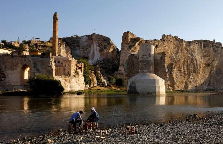 National Geographic yazdı: Hasankeyf'te tarih sular altına gömülüyor