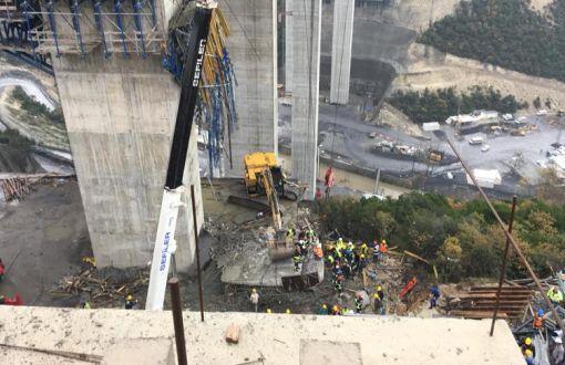 #KatilProje Kuzey Marmara Otoyolu İnşaatında Çöken Viyadüğün Altında Kalan 3 İşçi Hayatını Kaybetti