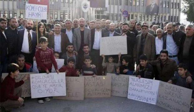 Kocaeli Dilovası halkı, Kömürcüler Organize Sanayi Bölgesi'ne hayır dedi