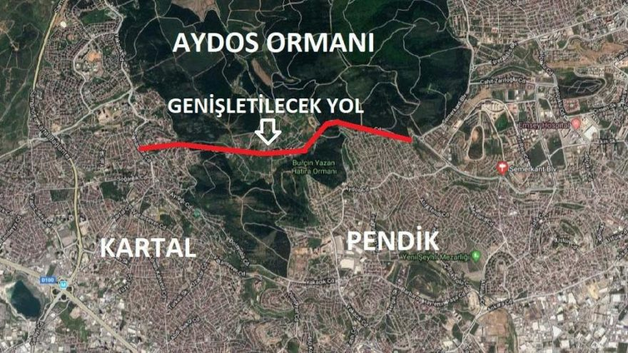"İstanbul'a ihanet tam yol: ""Aydos ormanı da yola feda edildi"""