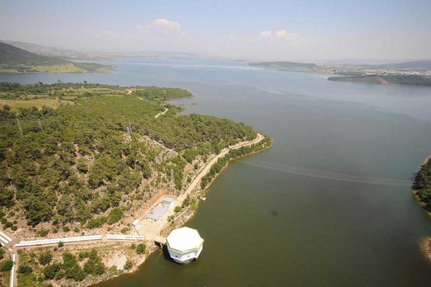 Tahtalı Barajı'nın koruma havzasına mermer ocağı
