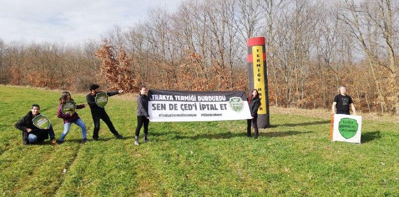 KOS'tan Çerkezköy'de termik santral kapanış töreni