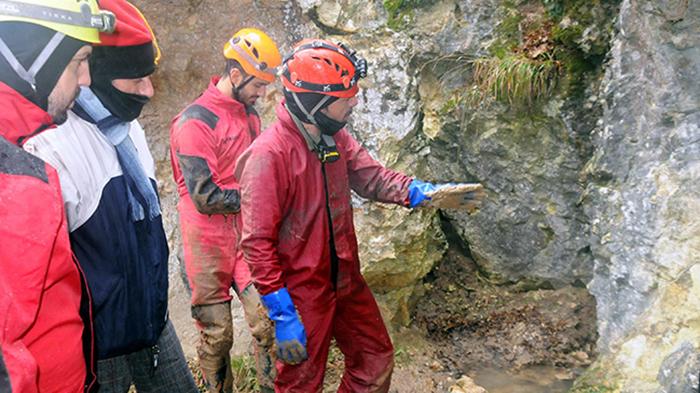 Istrancalar'da mağaralar keşfediliyor