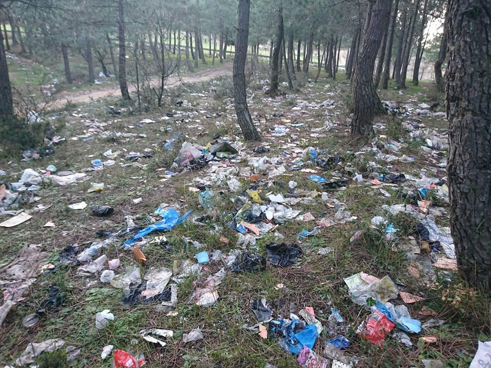 Aydos Ormanı çöplüğe döndü
