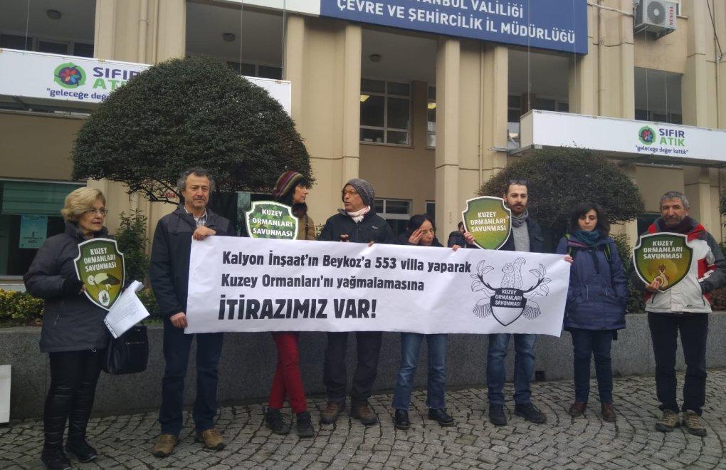 """KUZEY ORMANLARI SAVUNMASI: """"Beykoz'da 553 Villa için 5 Bin Ağaç Kesilecek"""""""
