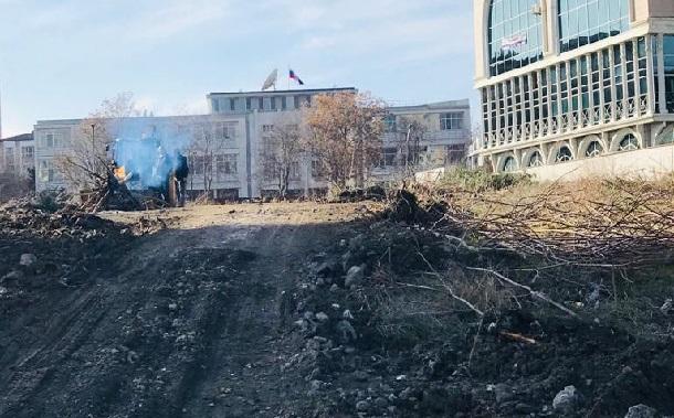 """Mimarlar Odası Ankara Şubesi: """"TBMM karşısında rant için ağaç ve hukuk katliamı yapıldı"""""""