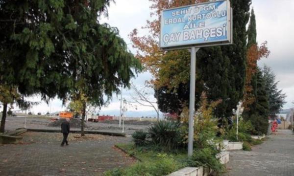 Beşikdüzü'ndeki Şehit Üsteğmen Erdal Kurtoğlu Parkı üzerine otel yapması için satıldı