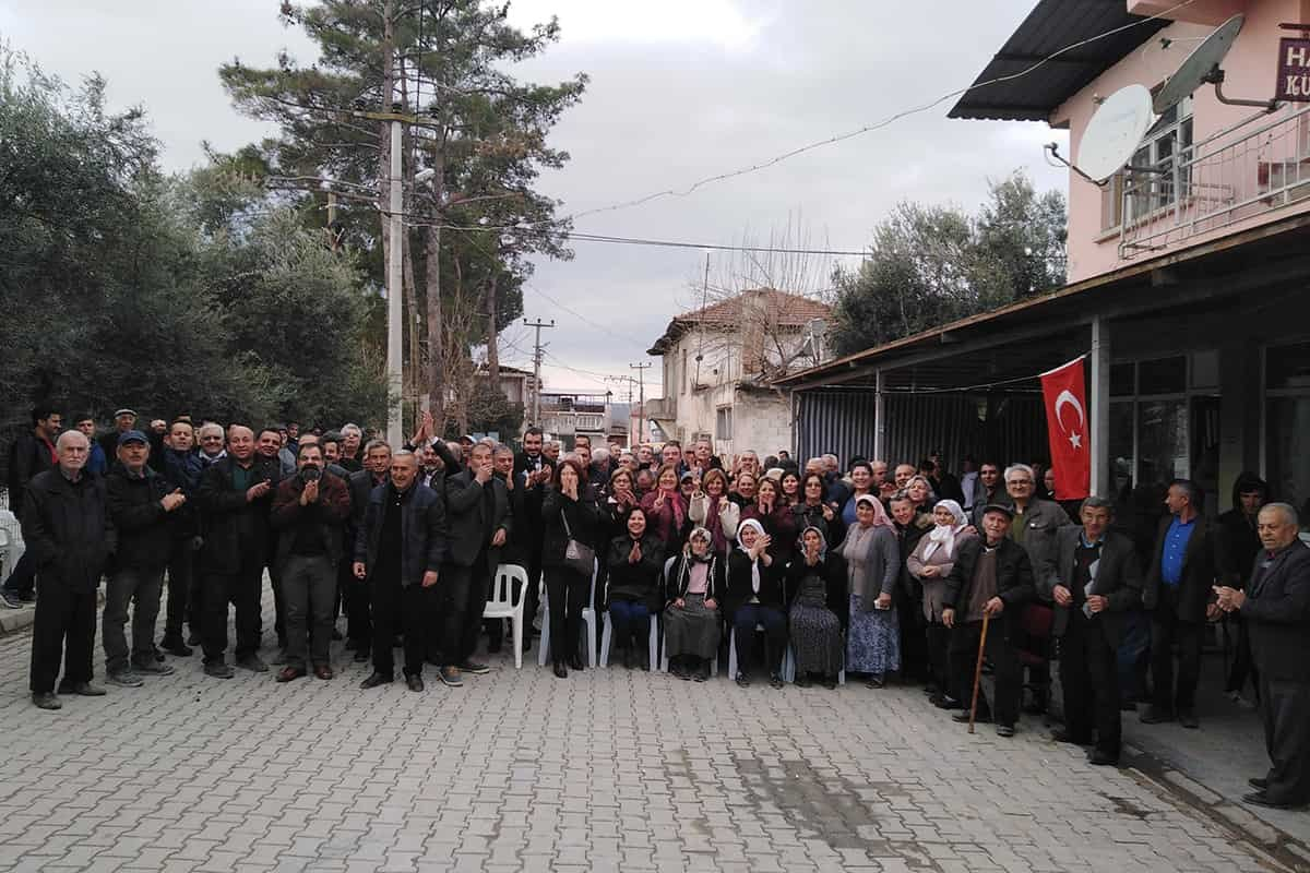 Denizli Sarayköy halkı JES'e bir kez daha geçit vermedi!