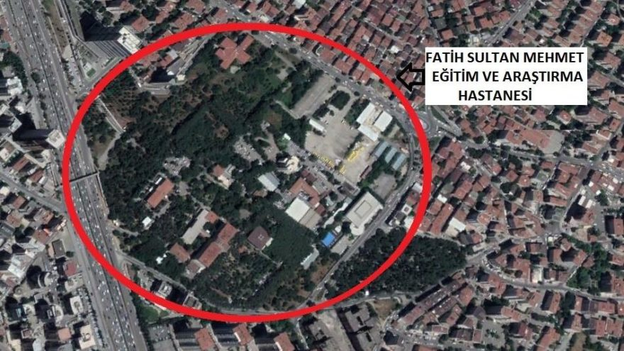 Ataşehir'de halka ait bir yeşil alan daha SİT derecesi değiştirilerek yapılaşmaya açıldı