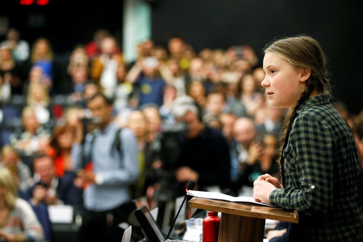 """Greta İtalyan Senatosu'nda konuştu: """"Geleceğimizi çaldınız"""""""