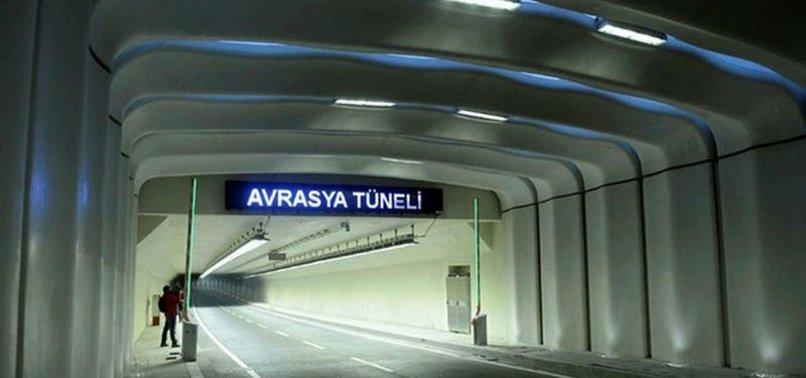 Avrasya Tüneli'nden geçmeyen aracın 155 milyon liracık faturası da halkın cebinden ödendi