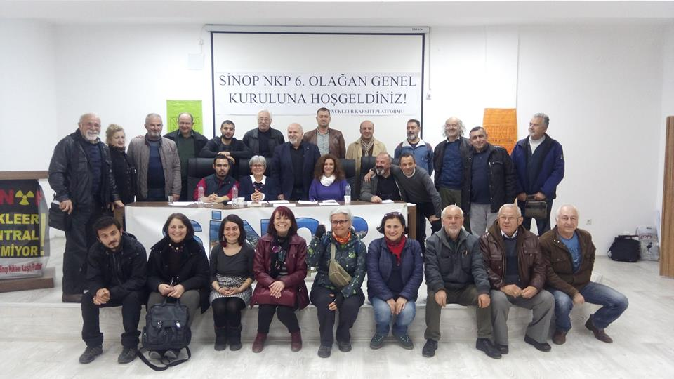 Yerel seçim sonrası Sinop Nükleer Karşıtı Platform'un ilk kongresi yapıldı