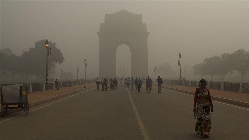 Hindistan'da hava kirliliği bir yılda 1,2 milyon kişinin ölümüne yol açtı