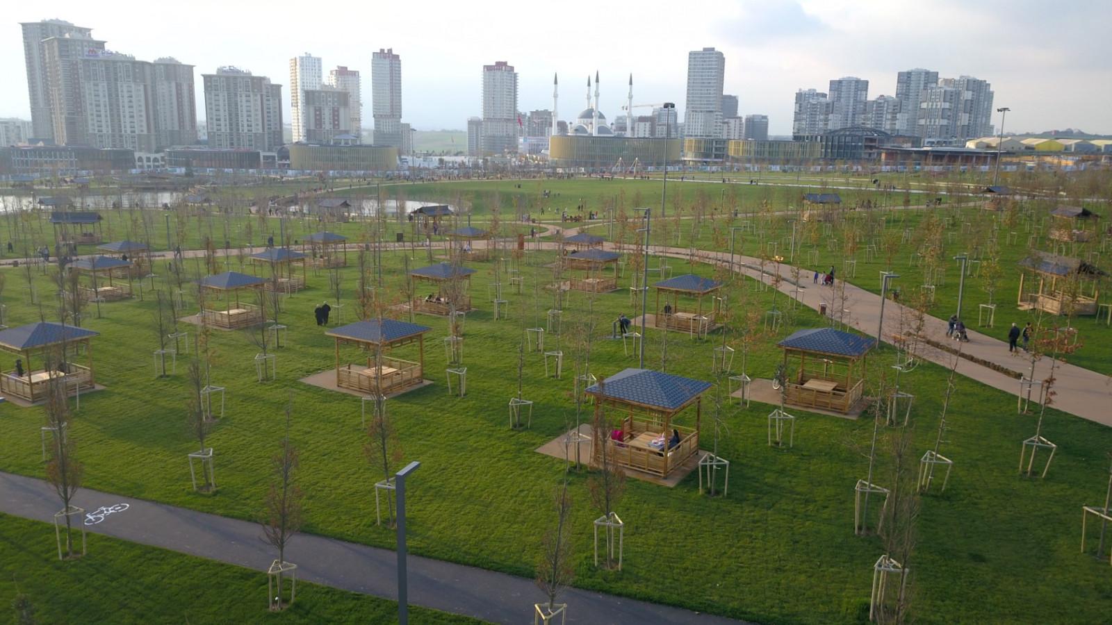 Zeytinburnu, Küçükçekmece ve Başakşehir millet bahçeleri projelerinde İBB devre dışı