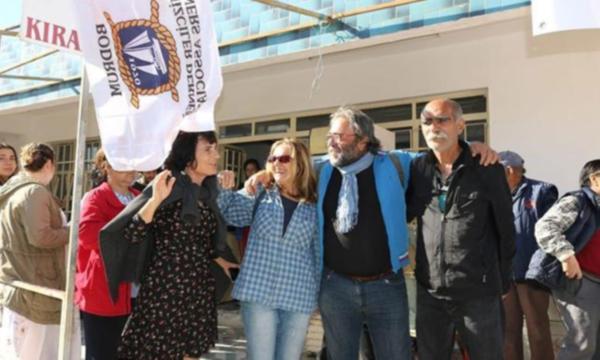 Adalıyalı Koyu'nda yapılmak istenen otel projesine yurttaşlar 'hayır' dedi