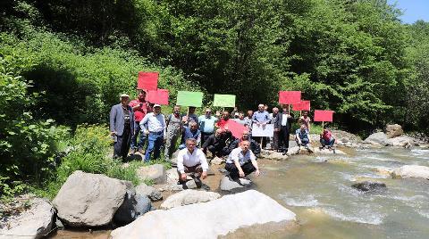 Trabzon'daki Galanima Deresi, HES tehdidi altında
