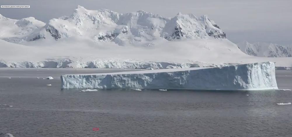 Batı Antarktika buz örtüsünde 122 metre incelme tespit edildi