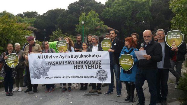 Doğa için, Aysin ve Ali için adalet istiyoruz!