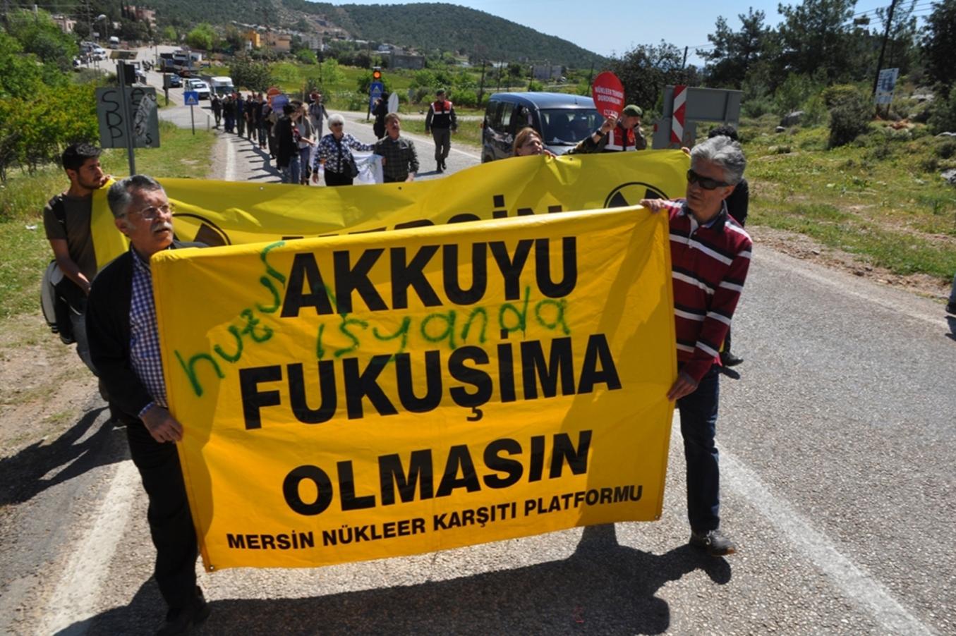 Ekoloji Birliği: Nükleer inşaatı durdurulsun, santralden vazgeçilsin!