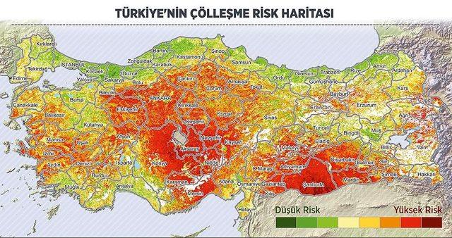 Türkiye topraklarının yarısı çölleşme tehdidi altında