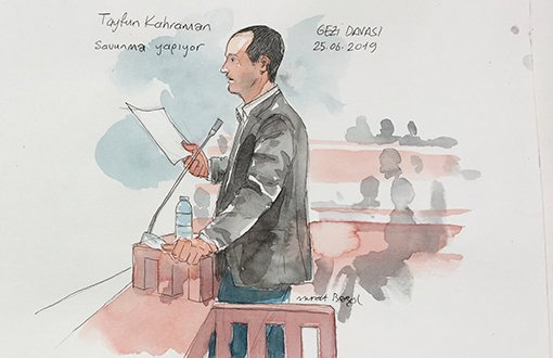 "Gezi Davası'nda Tayfun Kahraman: ""10 Milyon İnsana Ne Para Yeter Ne De Organizasyon"""