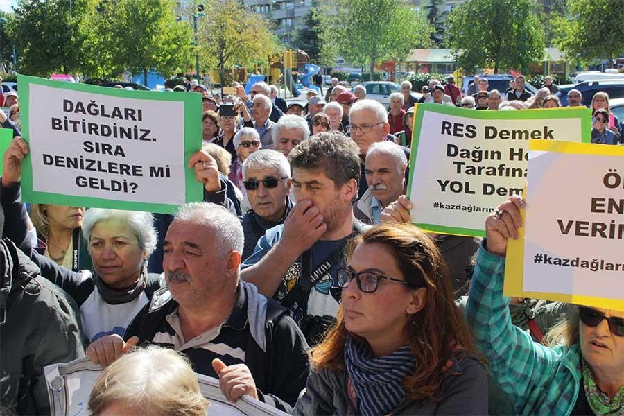 Kaz Dağları'nı koruma önergesi AKP ve MHP oyları ile reddedildi