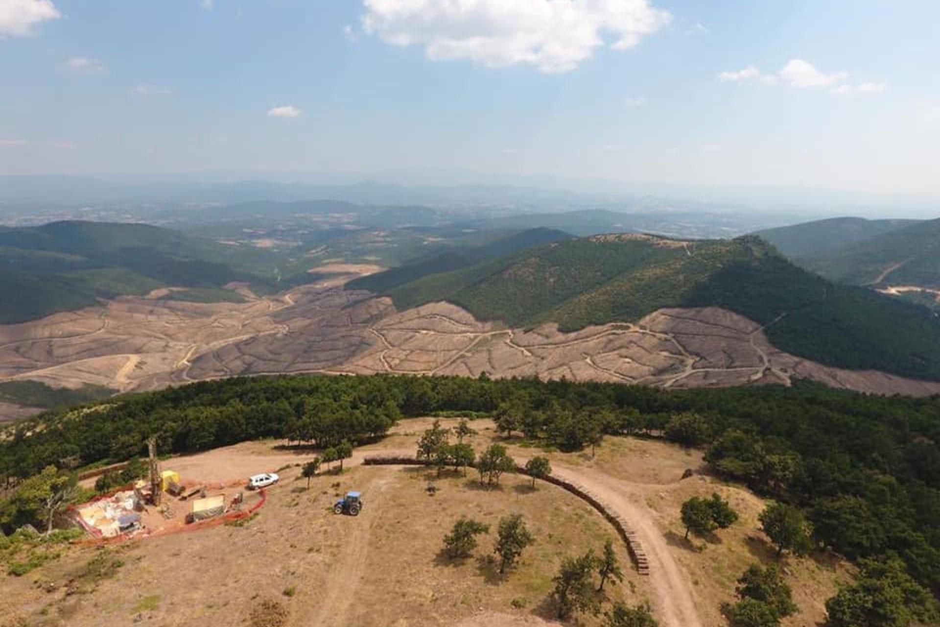 Çanakkale Kirazlı'da maden ocağı için ÇED'de belirtilenin 4 katı ağaç kesildi!