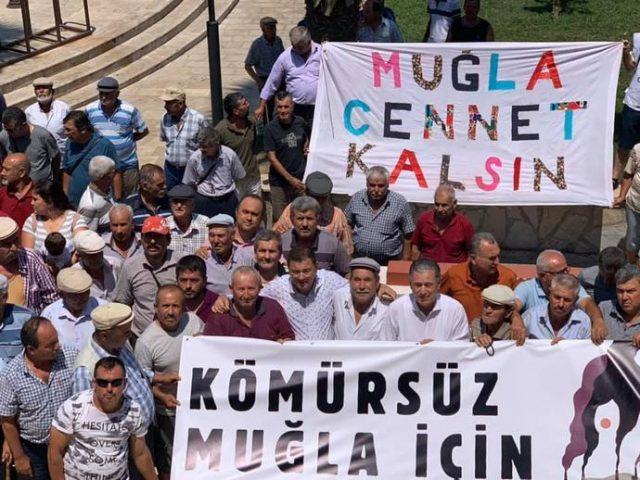 Muğlalılar 'Kömürsüz Muğla'da Zehirlenmeden Yaşamak İstiyor!