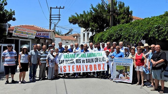 Germiyan'daki taş ocağı için 6. kez yargıya gidiliyor