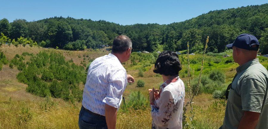 Bursa'daki doğa harikası Karagölde de bir gram su kalmadı