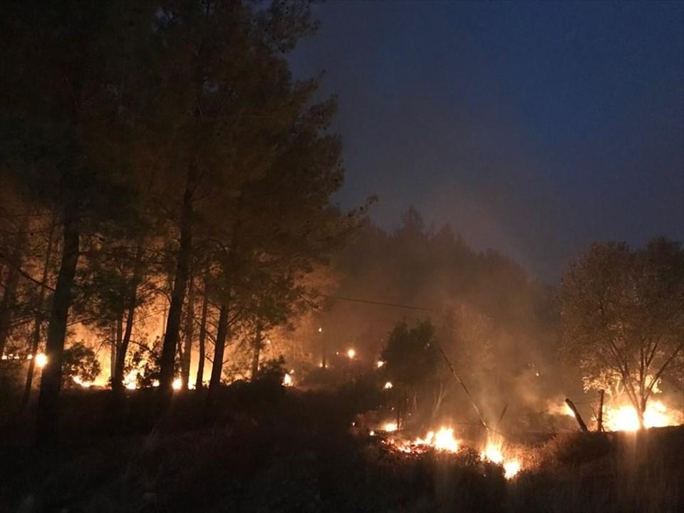 THK'dan Göcek'teki orman yangınıyla ilgili açıklama: 'Uçaklarımıza 'gerek yok' denildi'