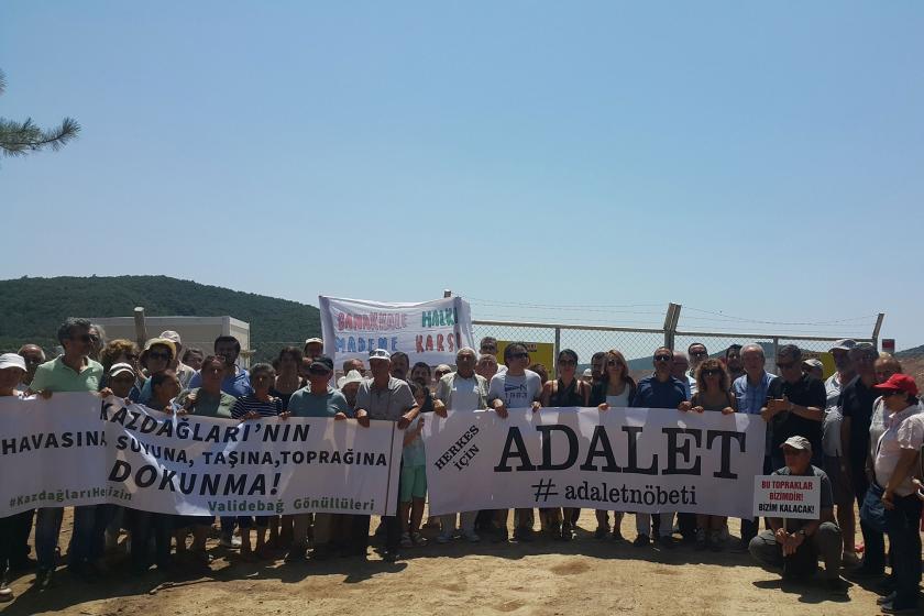 Kanada'dan Türkiye'ye destek: Kaz Dağları için eylem çağrısı