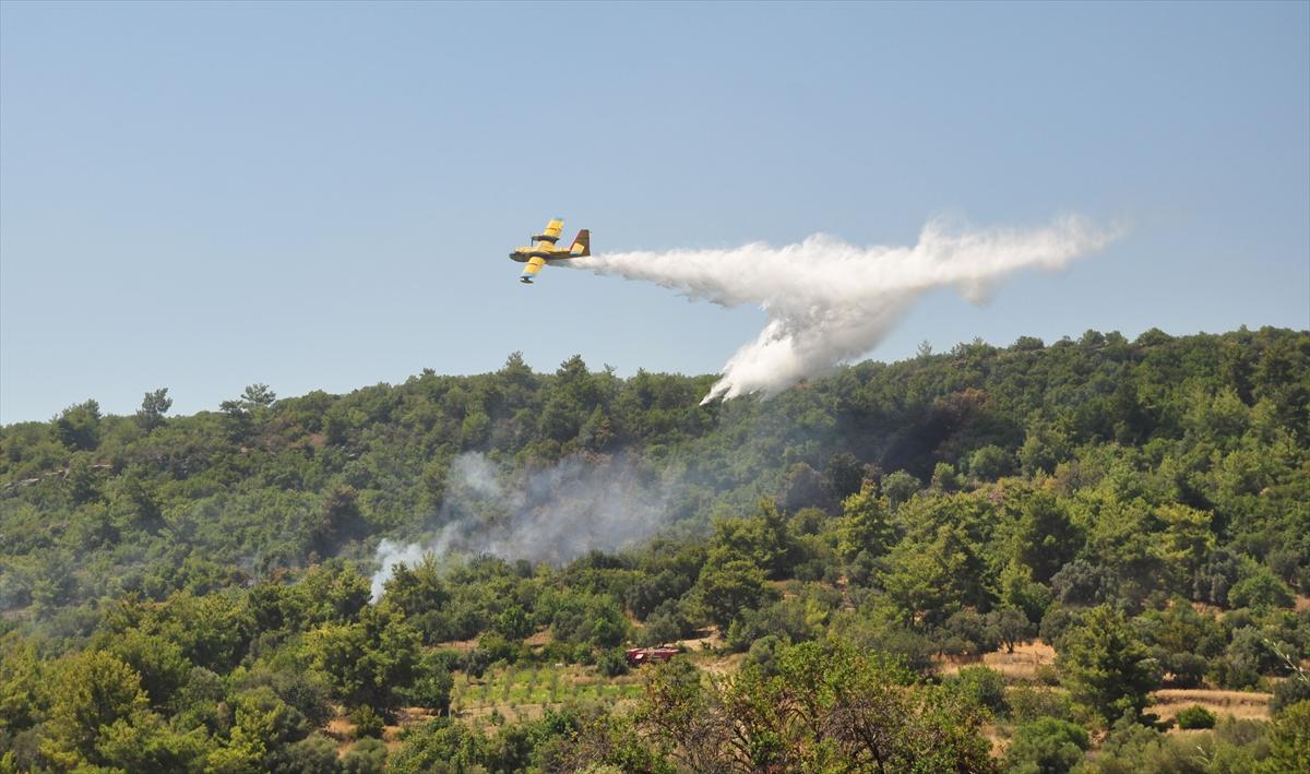 Yüceer orman yangınlarını ve söndürme uçaklarını sordu