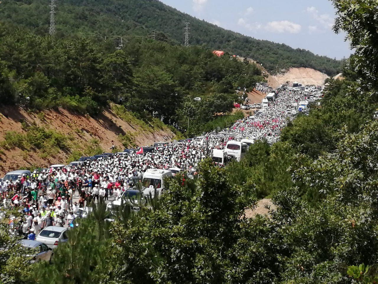 398 defa Kaz Dağları