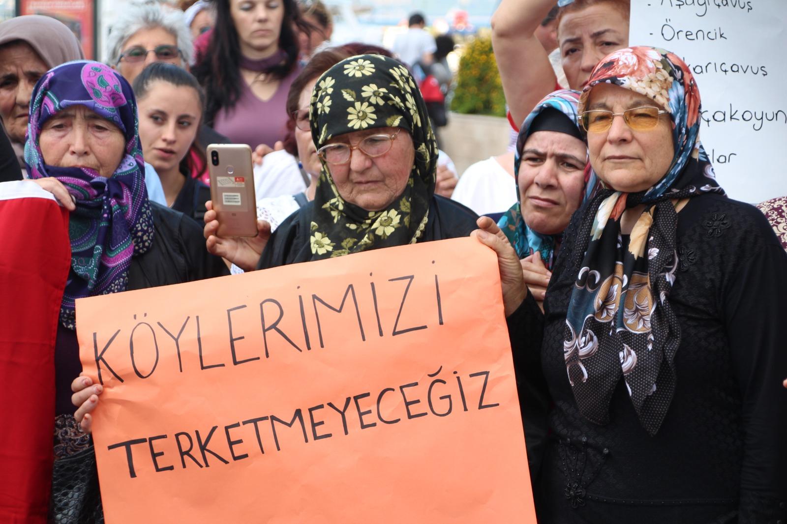 Kazdağları'nda halk Agonya'da kömür madeni istemiyor: 'Proje derhal iptal edilsin'