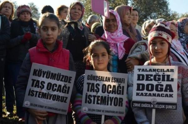 Şirince ve Selçuk için tehlike devam ediyor, halkı eyleme devam kararı aldı!