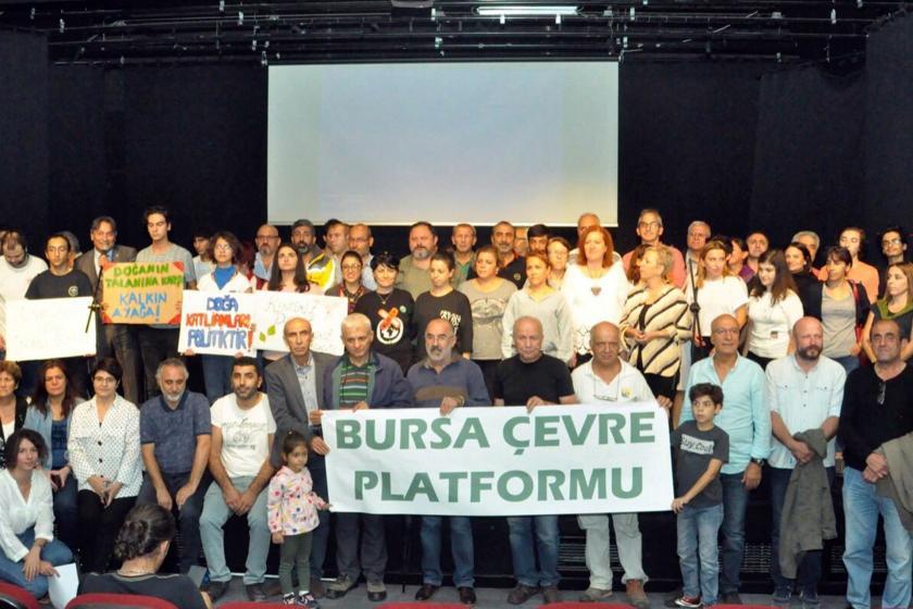 Bursa Çevre Platformu kuruluş bildirgesini açıkladı