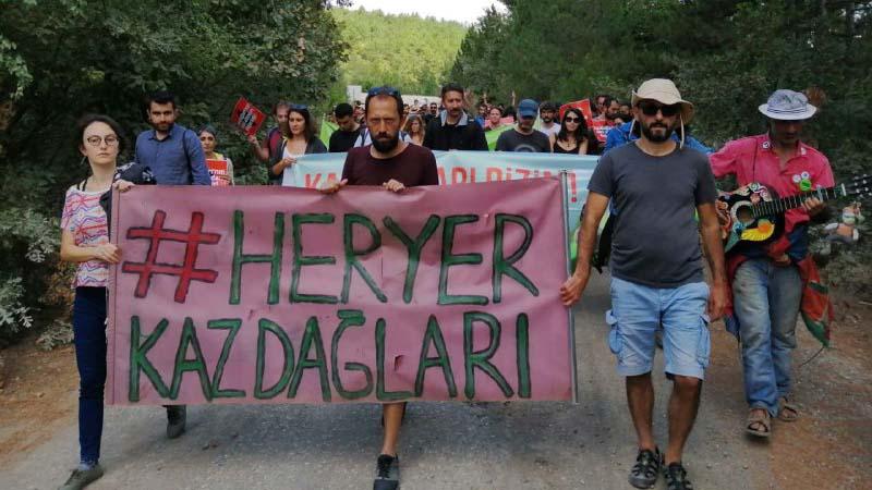 """Kaz Dağları'nda """"Yaşam için Barış"""" festivali yapıldı"""