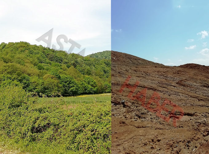 Kuzey Marmara Otoyolu için Kandıra'da planlanan taş ocağı bölgesinden tarih fışkırıyor!