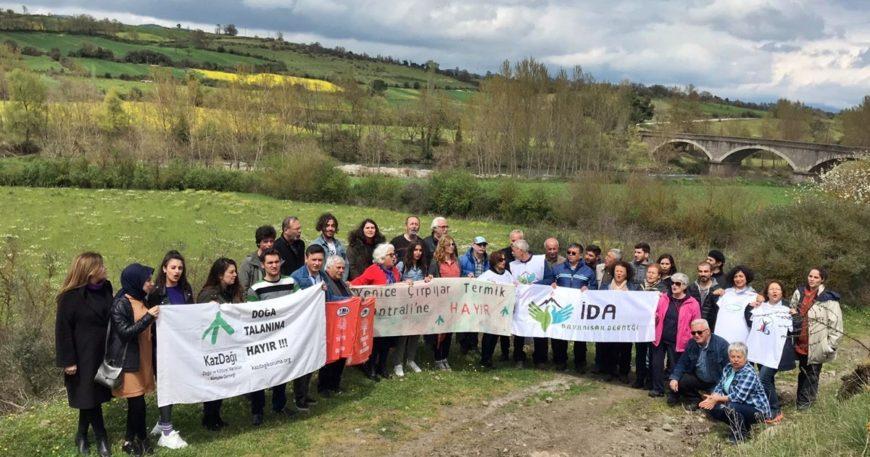 Kaz Dağları'na termik santral istemeyen Yenice halkı uyarıyor: Sonumuzu getiririz