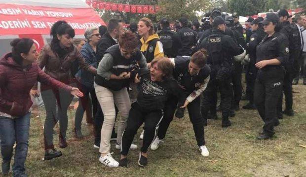 Sapanca'da Kuzey Ormanları nöbetine polis saldırısı: Çadırlar söküldü, yurttaşlar darp edildi