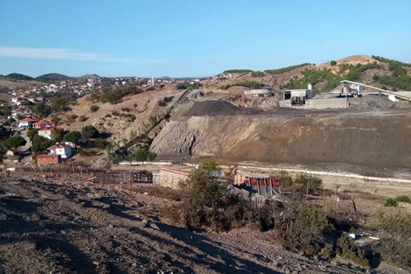 Ayvalık Karaayıt'taki demir madeni, atık sahası için köylünün son merasına göz dikti