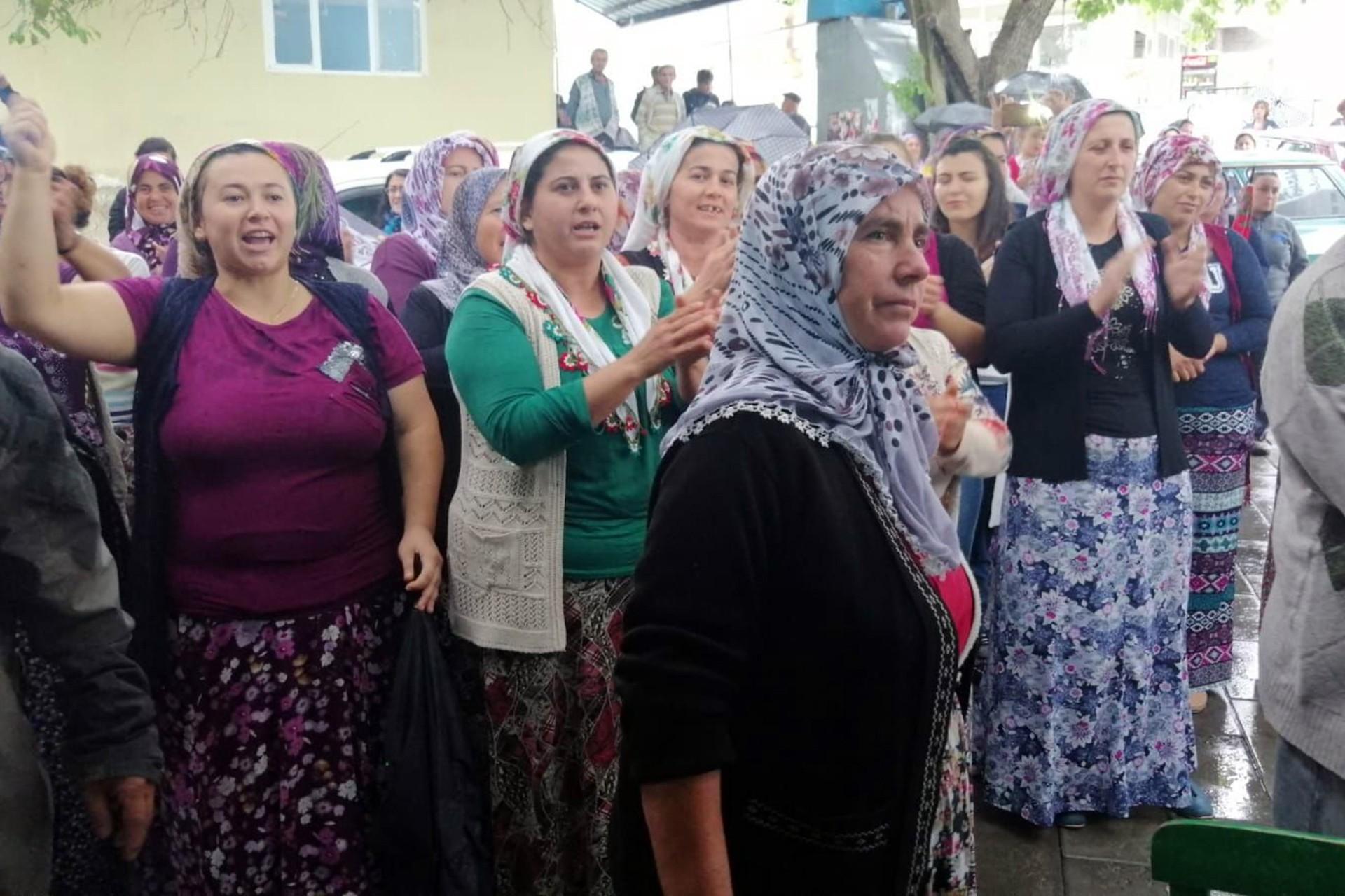 Aydın'da Mutaflar köylüleri madene ÇED toplantısı yaptırmadı