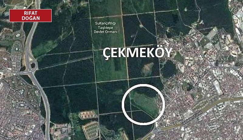 Çekmeköy'de askeri araziye rezidans, AVM planına yargıdan iptal kararı