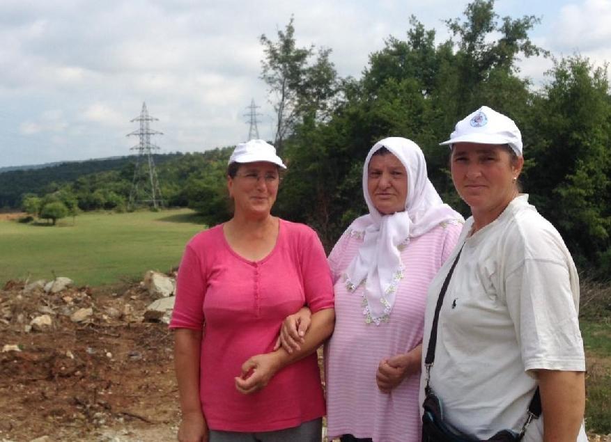 Kırklareli Kıyıköy'de Türk Akımı'na direnen üç kızkardeşin tarlasına el konuldu!