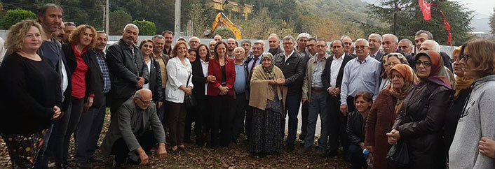 Genel başkanlardan ağaç kesilmesi planlanan teleferik projesi protestosuna destek!