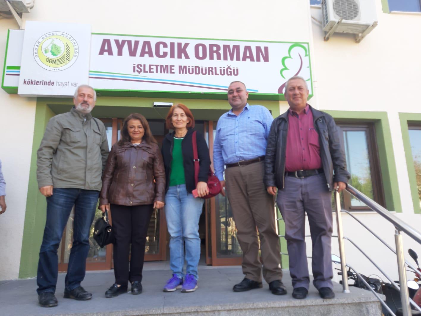 """""""Çanakkale, Bahçedere'de yeniden bir maden çalışması istemiyoruz"""""""